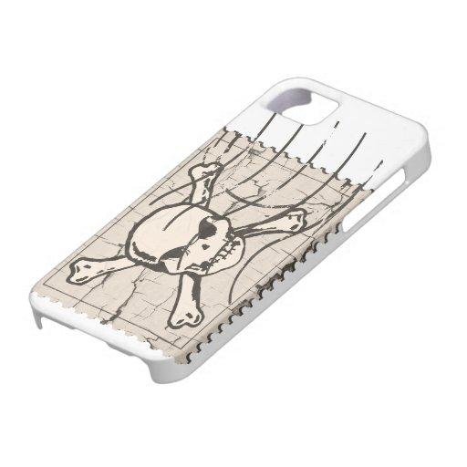 Skull Stamp 3 iPhone 5/5S Case