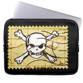 Skull Stamp 3 Computer Sleeve
