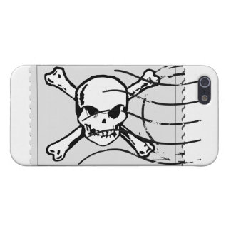 Skull Stamp 5 Covers For iPhone 5