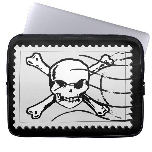 Skull Stamp 5 Laptop Sleeves