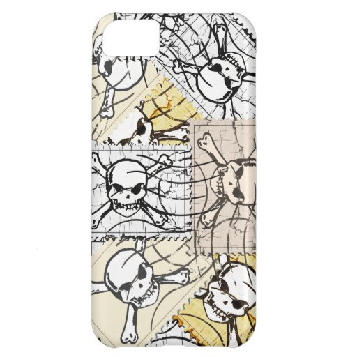 Skull Stamp iPhone 5C Covers