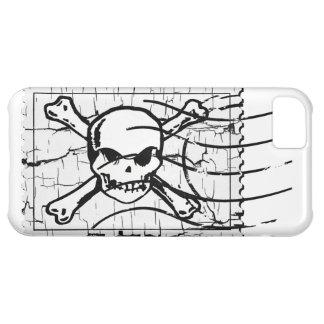 Skull Stamp iPhone 5C Cases