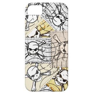 Skull Stamp iPhone 5 Cases