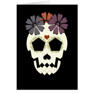 """Skull """"Stay Spooky!"""" Greeting Card"""
