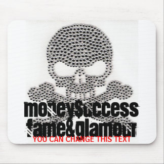 Skull Studded Mousepad
