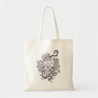 Skull Style Tote Bag