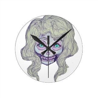 skull sugar pastel -her26- clocks
