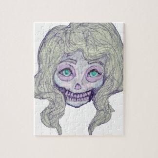 skull sugar pastel -her26- jigsaw puzzle