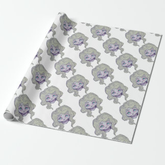 skull sugar pastel -her26- wrapping paper