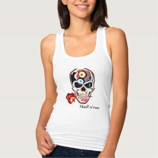 Skull t-shirt n'rose