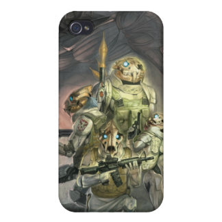 Skull tigers for iPhone4 iPhone 4 Covers