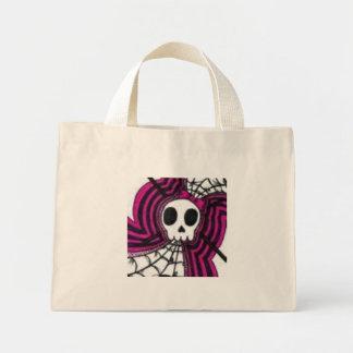 skull tote mini tote bag