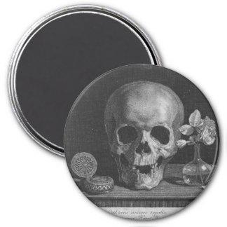 Skull Vignette Magnet