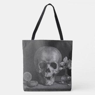 Skull Vignette Tote