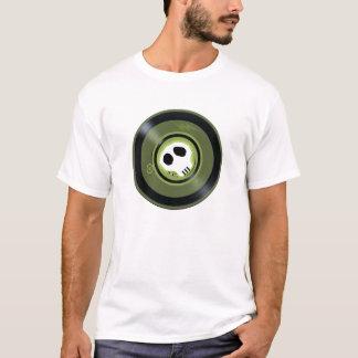 Skull Vinyl Record T-Shirt