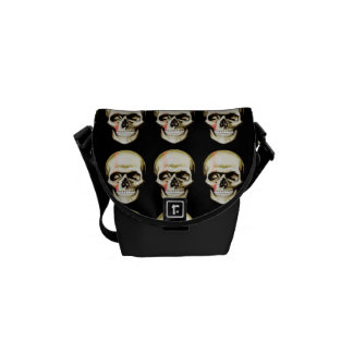 skull warpaint commuter bags
