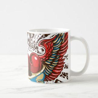 Skull Wings Coffee Mugs