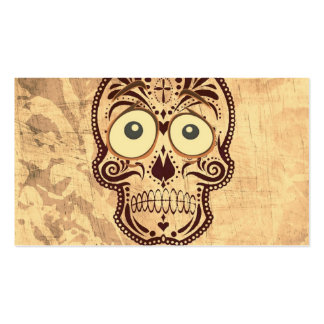 skull with big eyes pack of standard business cards