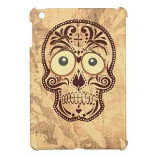 skull with big eyes iPad mini cases
