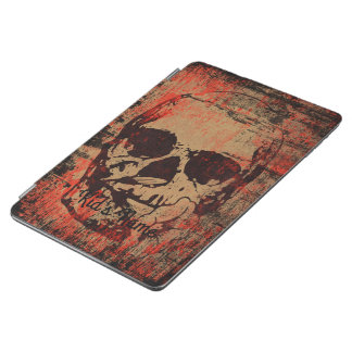 Skull with flower iPad air cover