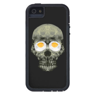 Skull with Fried Egg Eyes iPhone 5 Cover
