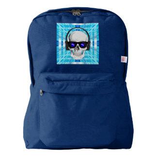 Skull with Headphones Backpack