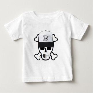 Skull with Skull Hat Baby T-Shirt