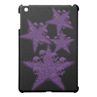 Skull with Star iPad Mini Cases