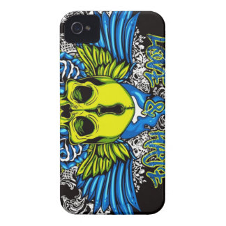 Skull with Wings iPhone 4 Case-Mate Case