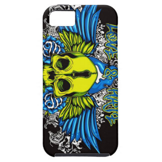 Skull with Wings iPhone 5 Covers