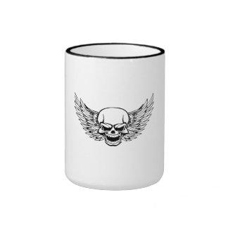 Skull With Wings Mug
