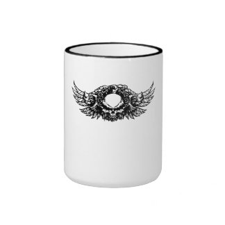 Skull With Wings Coffee Mug
