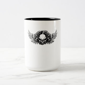 Skull With Wings Mugs