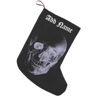 Skull X-Ray Small Christmas Stocking
