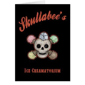 Skullabee's Ice Creamatorium Cards
