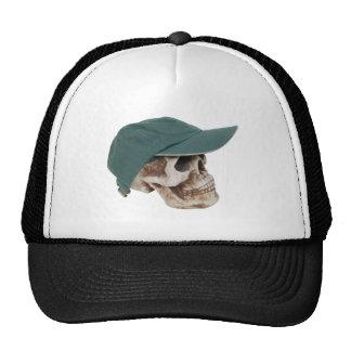 SkullBaseballCap032709 Trucker Hats