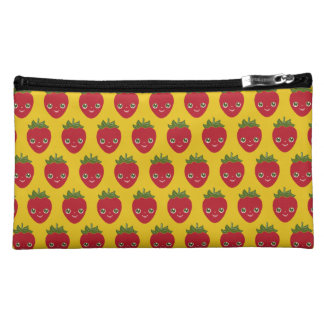 Skullberry, Sweet Strawberry That Has Gone Rogue Cosmetic Bags