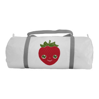 Skullberry, Sweet Strawberry That Has Gone Rogue Gym Duffel Bag
