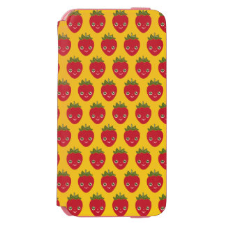 Skullberry, Sweet Strawberry That Has Gone Rogue Incipio Watson™ iPhone 6 Wallet Case