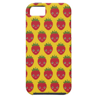 Skullberry, Sweet Strawberry That Has Gone Rogue iPhone 5 Case