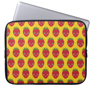Skullberry, Sweet Strawberry That Has Gone Rogue Laptop Sleeve