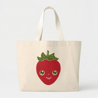 Skullberry, Sweet Strawberry That Has Gone Rogue Large Tote Bag