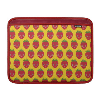 Skullberry, Sweet Strawberry That Has Gone Rogue MacBook Sleeve