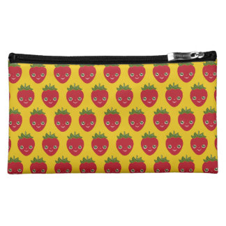 Skullberry, Sweet Strawberry That Has Gone Rogue Makeup Bags