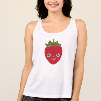 Skullberry, Sweet Strawberry That Has Gone Rogue Singlet