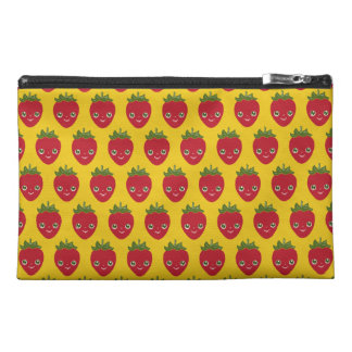 Skullberry, Sweet Strawberry That Has Gone Rogue Travel Accessory Bags