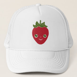 Skullberry, Sweet Strawberry That Has Gone Rogue Trucker Hat