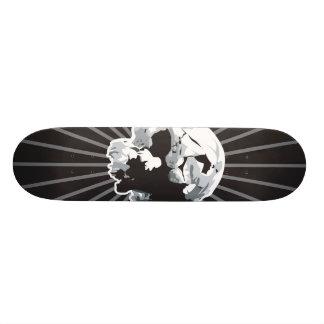 skullboard skateboard decks