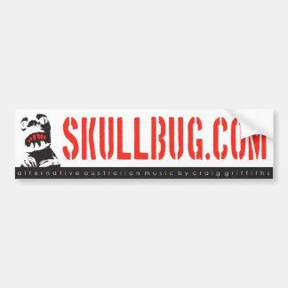 Skullbug Music bumper sticker