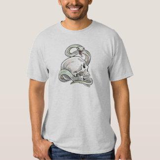 skullitan n' snake t-shirts